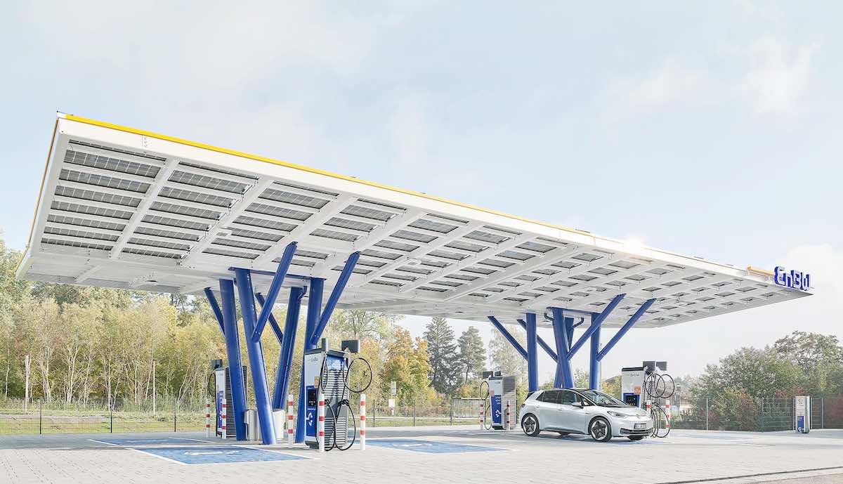 enbw elektroauto ladepark rutesheim