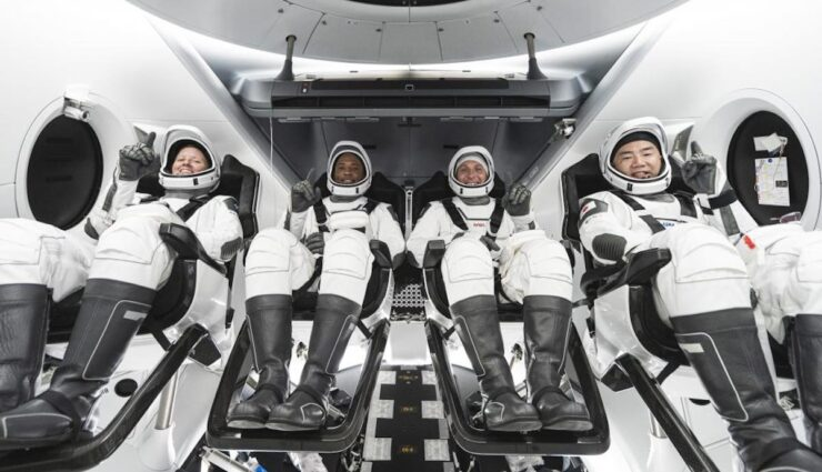 spacex dragon kapsel iss mission
