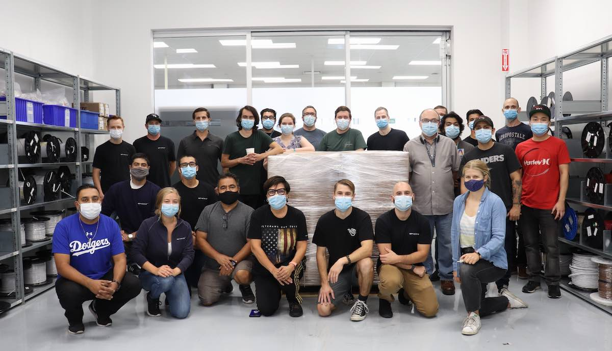spacex medtronic ventile beatmungsgeraet kooperation