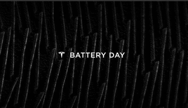 tesla battery day logo folien