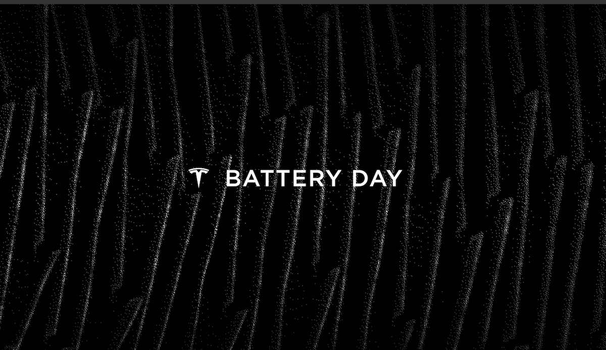 tesla battery day logo folien