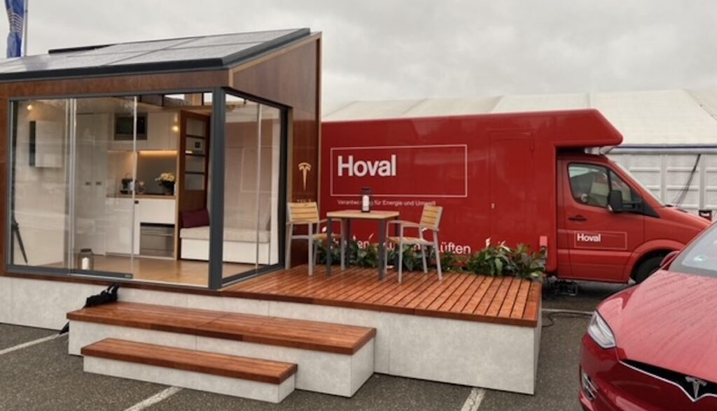 tesla tiny house model-x
