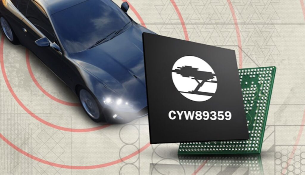 chip cypress cyw89359 tesla 5g