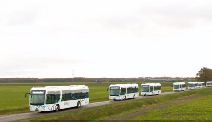byd elektrobus flotte niederlande keolis