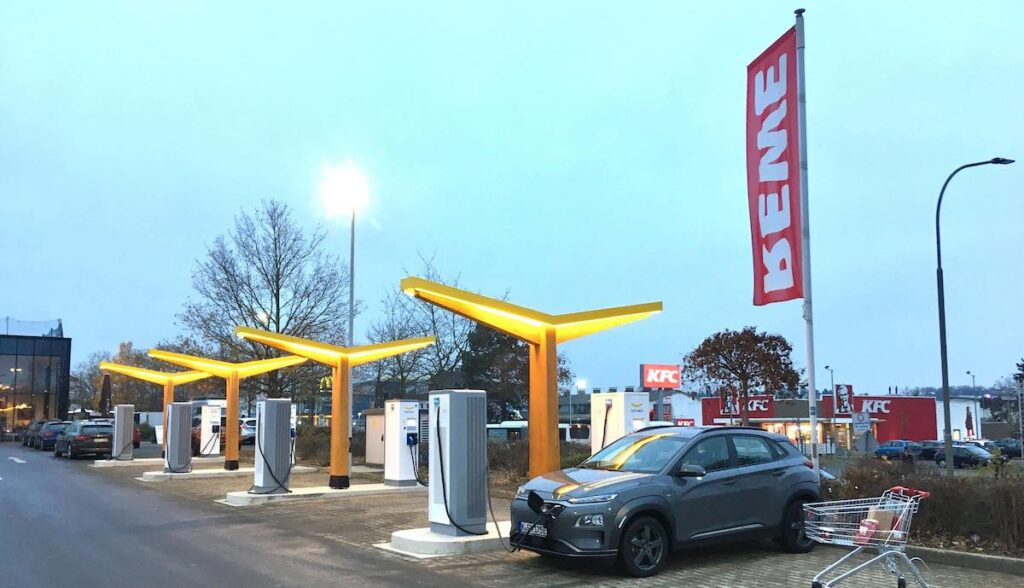 fastned ladestation rewe giessen