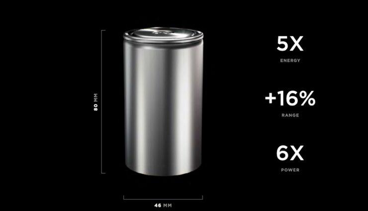 tesla batterie zelle 4680