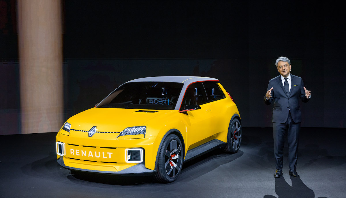 Reveal of the Groupe Renault strategic plan on January 14th 2021