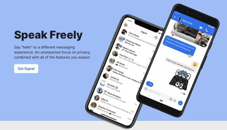 signal app website
