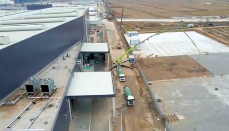 tesla gigafactory china erweiterung jan21