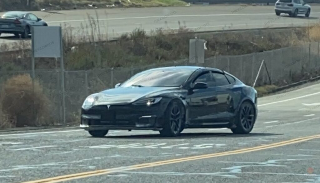 tesla model-s refresh prototyp