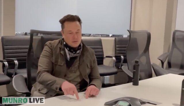 tesla ceo musk interview munro