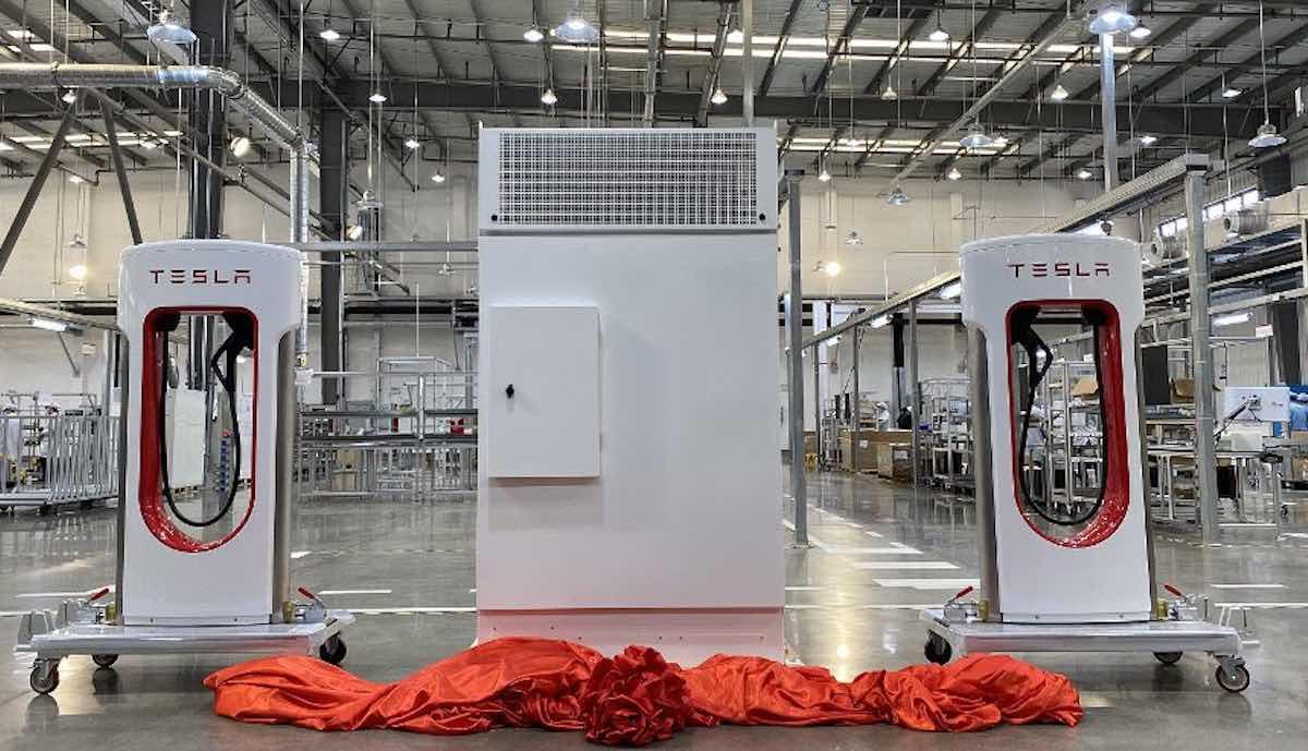 tesla supercharger fabrik china