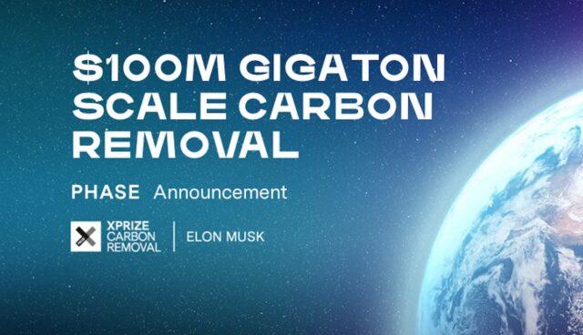 xprize carbon removal 100 mio elon musk