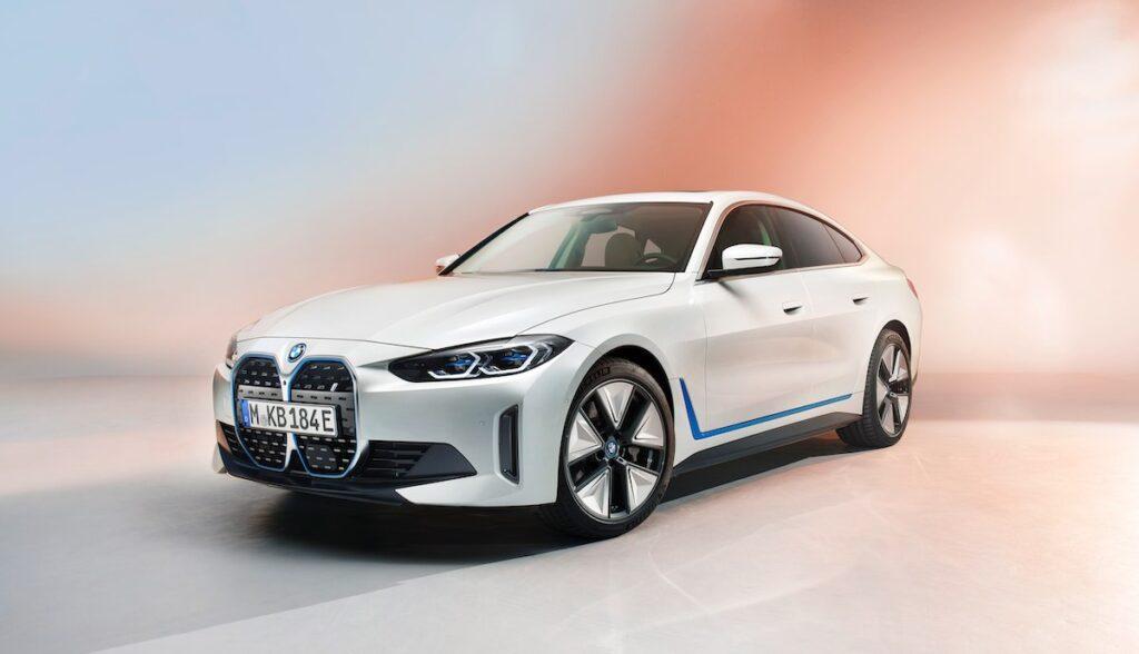 bmw i4 elektroauto weltpremiere