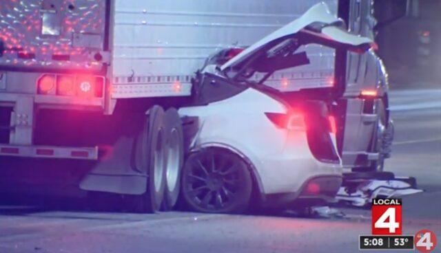 tesla unfall lastwagen detroit nhtsa untersuchung