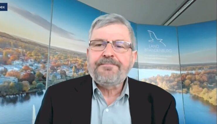 brandenburg umweltminister vogel ausschuss tesla giga berlin