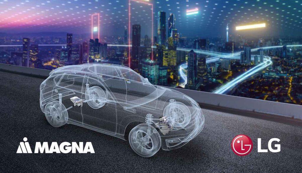 lg magna powertrain apple elektroauto