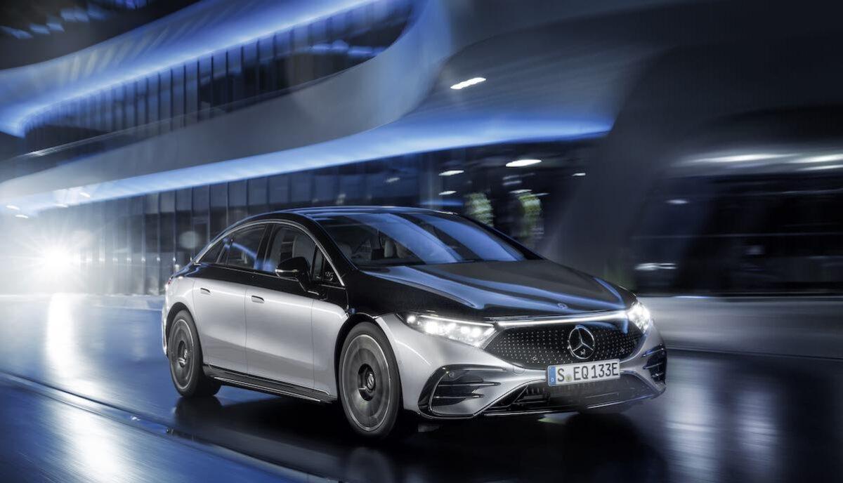 Mercedes-EQ, EQS 580 4MATICMercedes-EQ, EQS 580 4MATIC