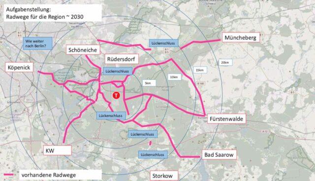 tesla giga berlin gruenheide radwege 2030 plan