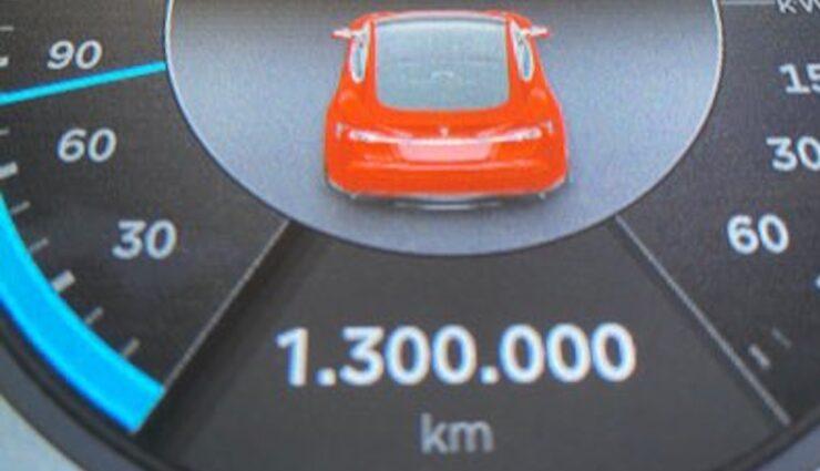tesla model-s gemmingen tacho 1300000 km
