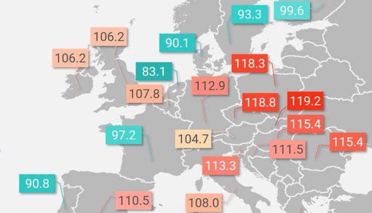 karte eu21 co2 emissionen autoflotte 2020