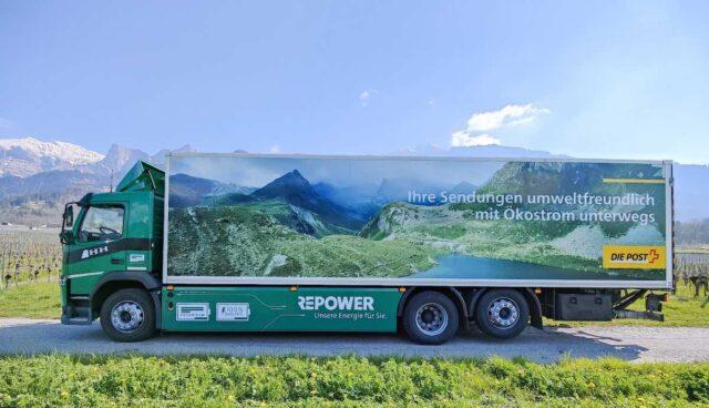 schweiz repower futuricum elektro lastwagen post