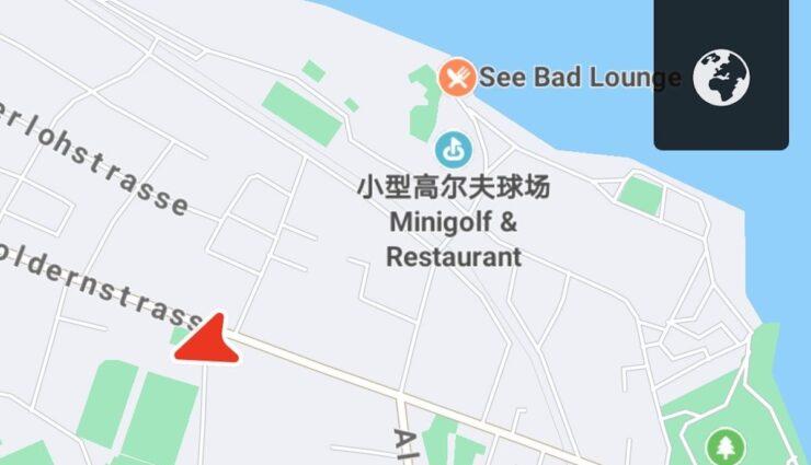 tesla app karte huawei chinesisch