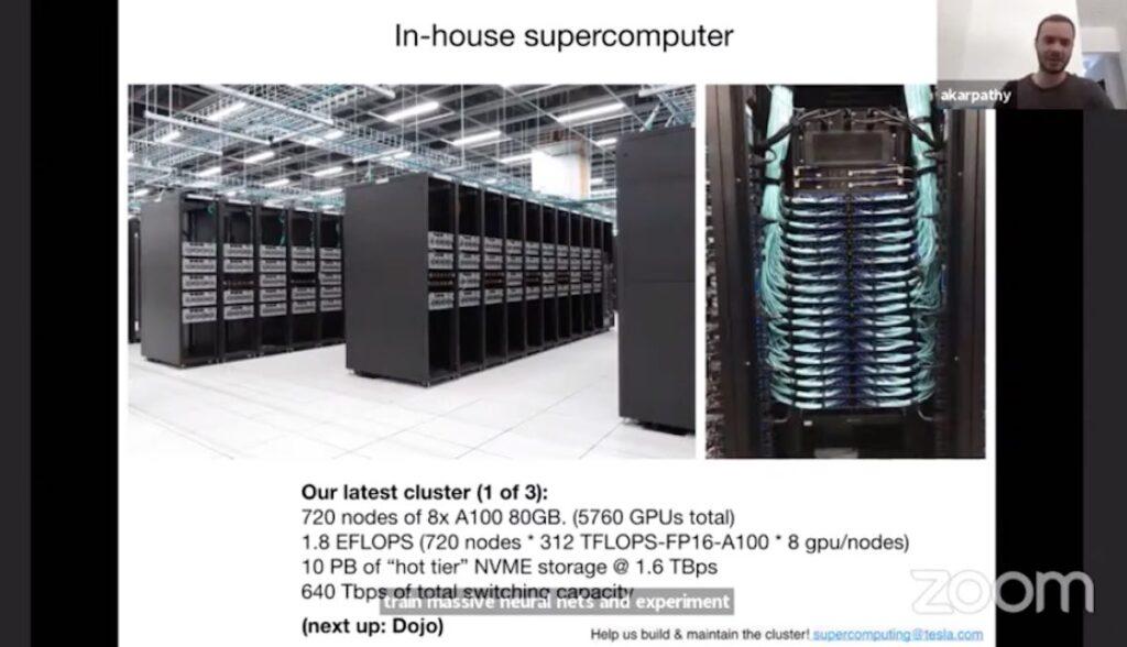 tesla supercomputer karpathy vortrag