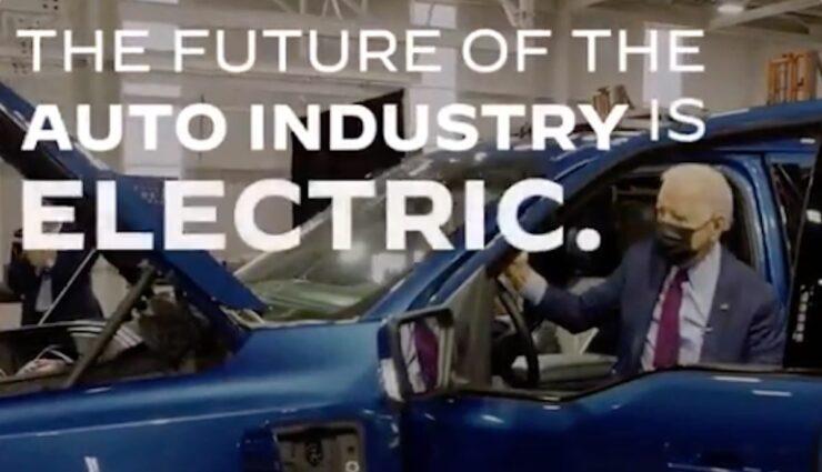 biden usa event elektroautos