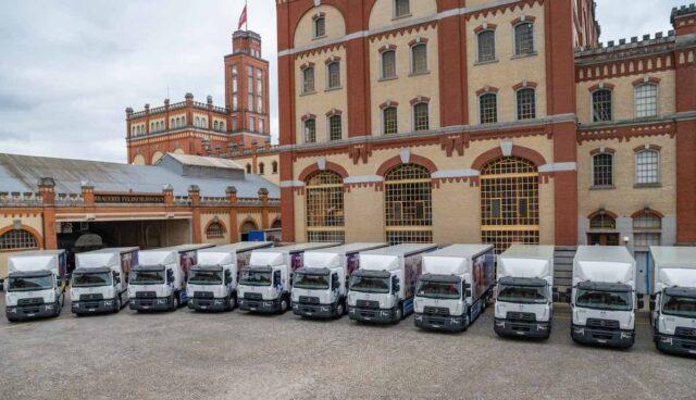 elektro lastwagen renault feldschloesschen