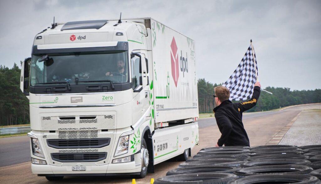 futuricum elektro lastwagen reichweite rekord