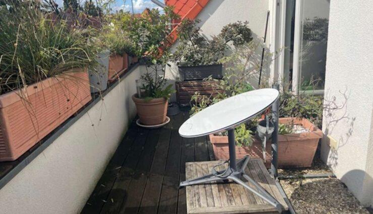 starlink schuessel balkon test