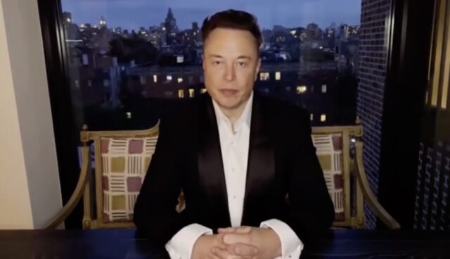 tesla elon musk china konferenz video