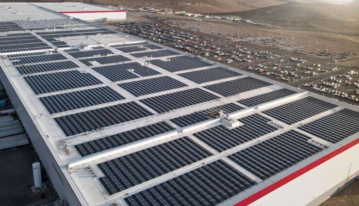 tesla gigafactory nevada dach solar