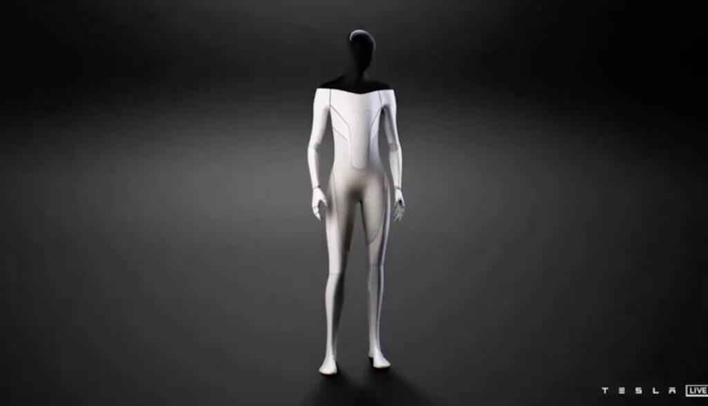 tesla humanoider roboter