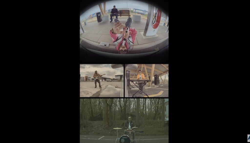 tesla sentry musk video band